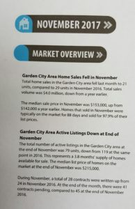November Market Overview and Stats