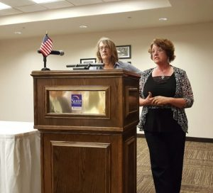 July Luncheon Sponsored by Kearny County Bank