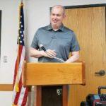 Speaker Kaleb Kentner from the City of Garden City.