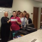 Our 2016 Donation to the Finney County Humane Society