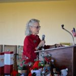 Judy Nusser Installing the 2018 Officers