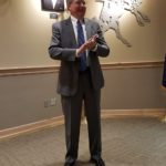 Marvin Anliker with American State Bank March Sponsor