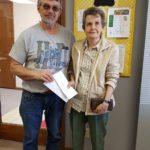 Winner of 2 Chamber Gift Certificates, Betty.