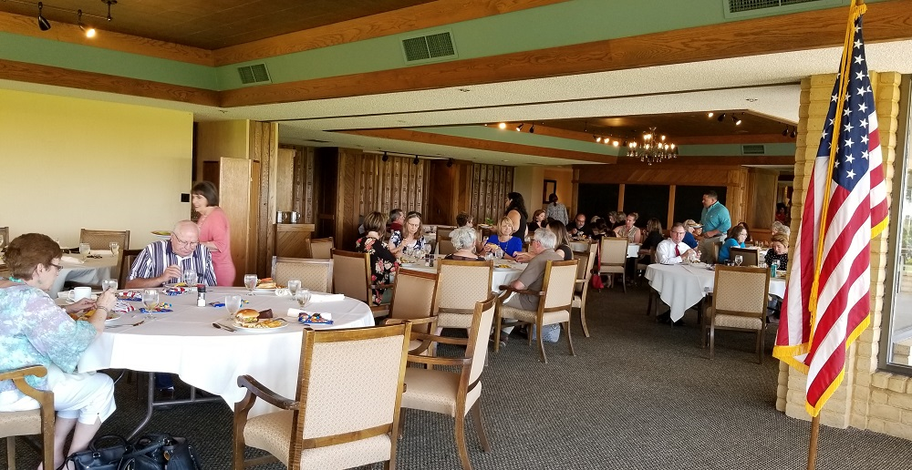 July Luncheon Sponsored by Garden City State Bank a branch of The Kearny County Bank